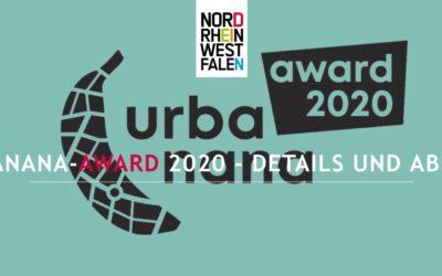 urbanana-Award 2020 – Tourismusförderung in NRW